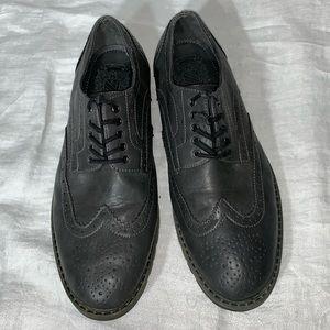 Marc Anthony Gray Wingtip Oxford Dress Shoe Sz 10M